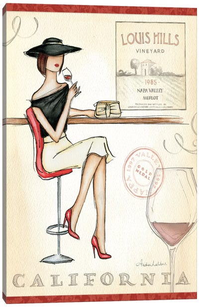 Wine Event II Canvas Art Print