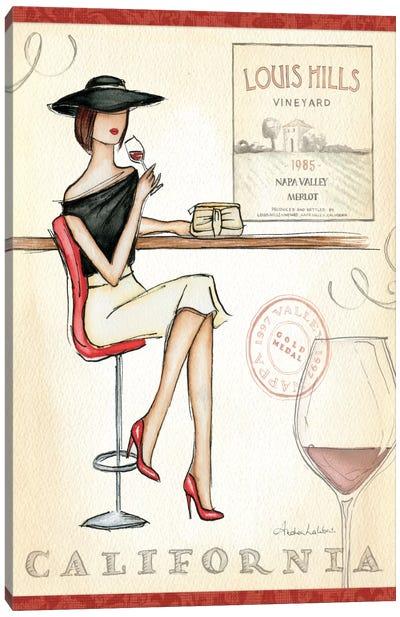 Wine Event II  Canvas Print #WAC75