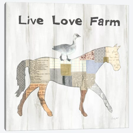 Farm Family V Canvas Print #WAC7612} by Courtney Prahl Canvas Artwork