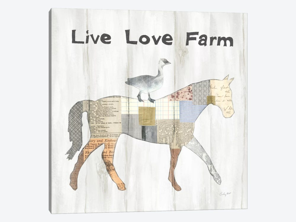 Farm Family V by Courtney Prahl 1-piece Canvas Print