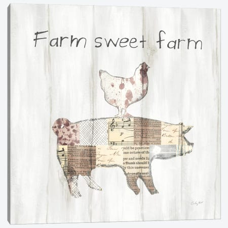 Farm Family VII Canvas Print #WAC7614} by Courtney Prahl Canvas Print