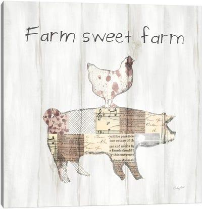 Farm Family VII Canvas Art Print