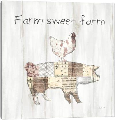 Farm Family VII Canvas Art Print