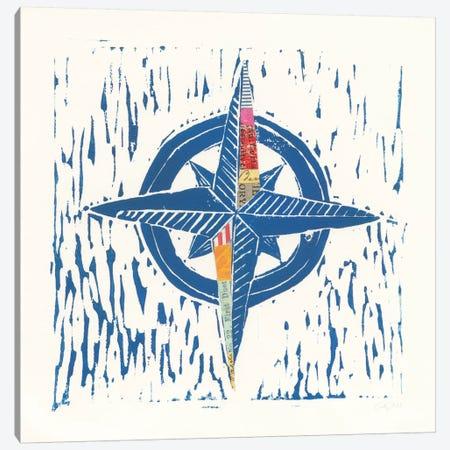Nautical Collage I Canvas Print #WAC7617} by Courtney Prahl Art Print