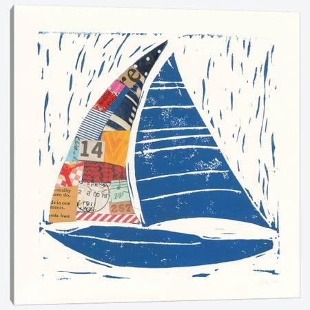 Nautical Collage IV Canvas Print #WAC7620} by Courtney Prahl Canvas Art Print