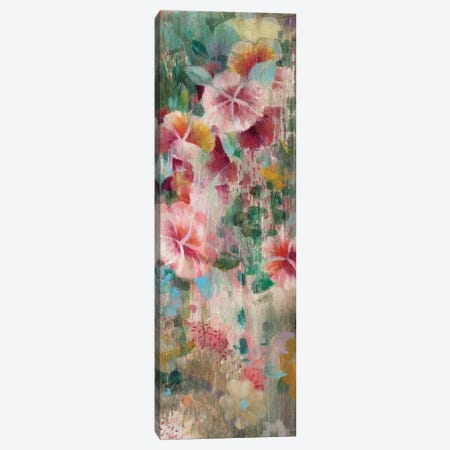 Flower Shower III Canvas Print #WAC7638} by Danhui Nai Canvas Wall Art