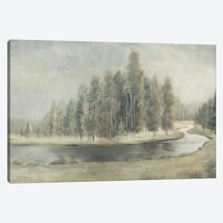 Landscape Trio IV Canvas Print #WAC7639} by Danhui Nai Canvas Artwork