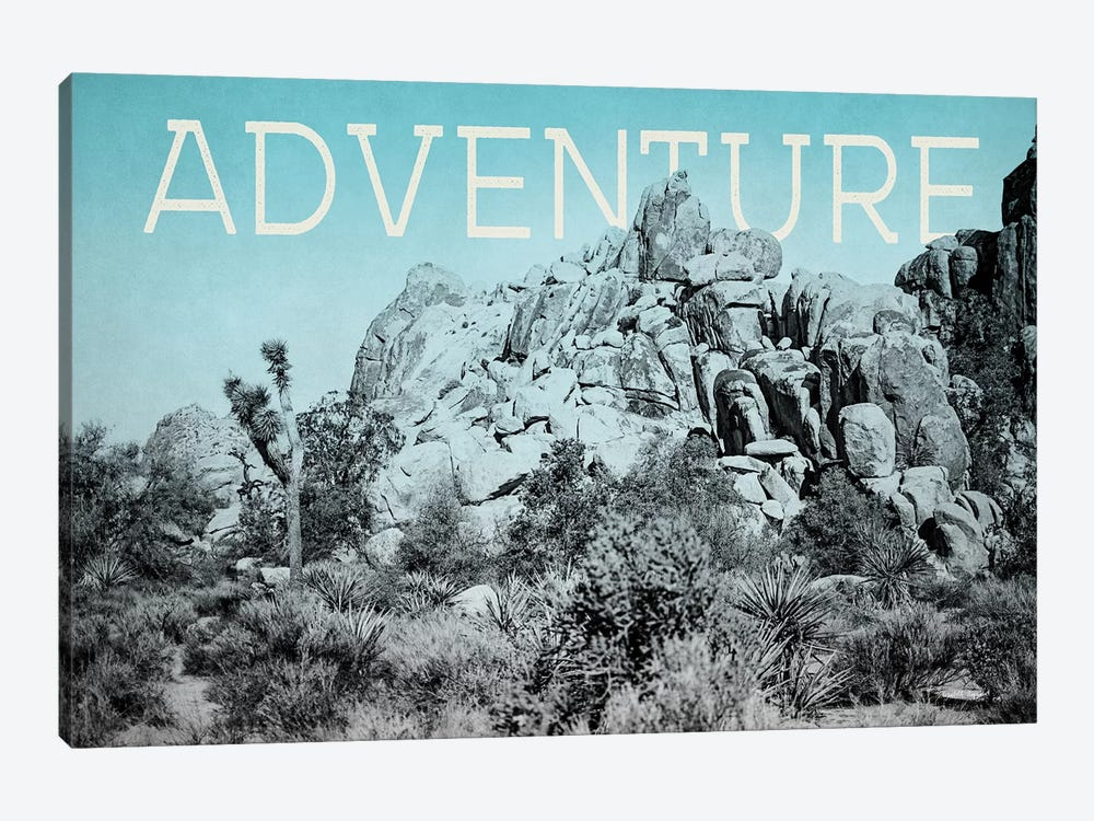 Ombre Adventure III Adventure by Elizabeth Urquhart 1-piece Canvas Art Print