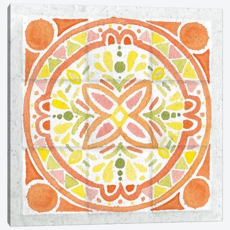 Citrus Tile I Canvas Print #WAC7670} by Elyse DeNeige Canvas Wall Art