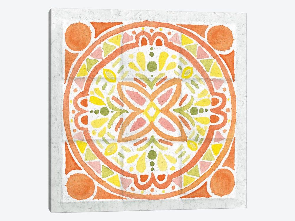 Citrus Tile I by Elyse DeNeige 1-piece Canvas Print