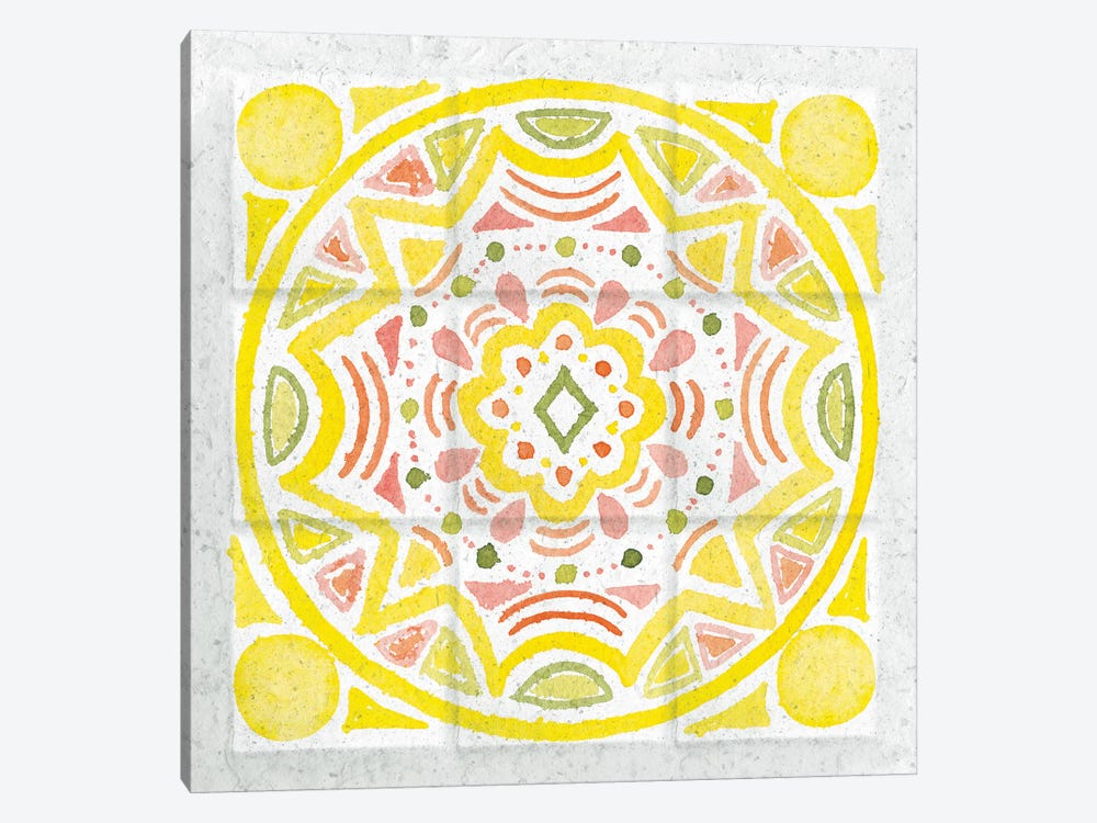 Citrus Tile II by Elyse DeNeige 1-piece Canvas Wall Art