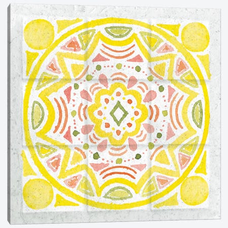 Citrus Tile II Canvas Print #WAC7671} by Elyse DeNeige Canvas Art