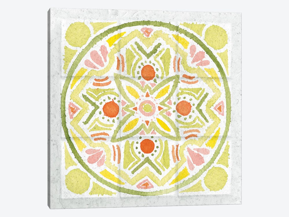 Citrus Tile III by Elyse DeNeige 1-piece Canvas Print