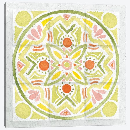 Citrus Tile III Canvas Print #WAC7672} by Elyse DeNeige Canvas Artwork