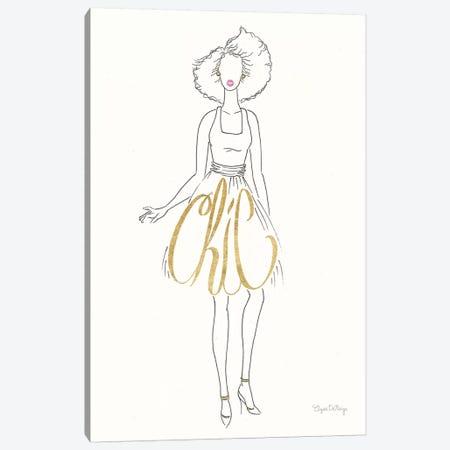 Stylish Sayings II Canvas Print #WAC7674} by Elyse DeNeige Art Print