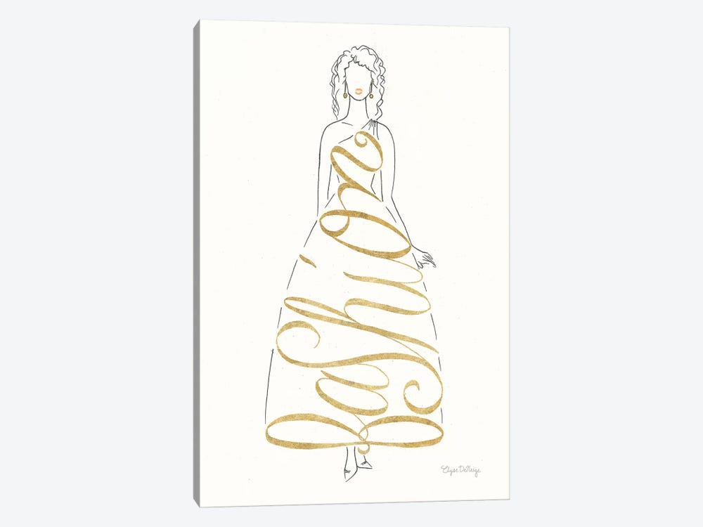 Stylish Sayings III by Elyse DeNeige 1-piece Canvas Wall Art