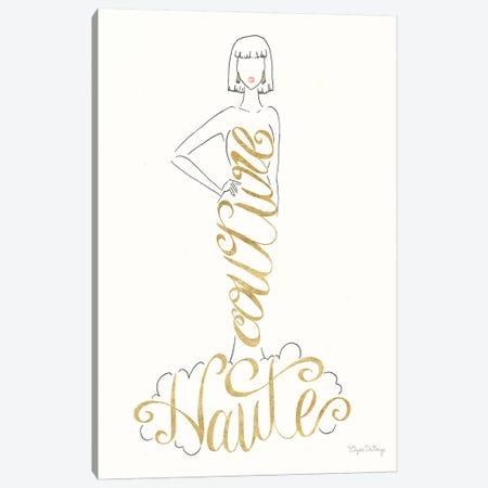 Stylish Sayings IV Canvas Print #WAC7676} by Elyse DeNeige Art Print