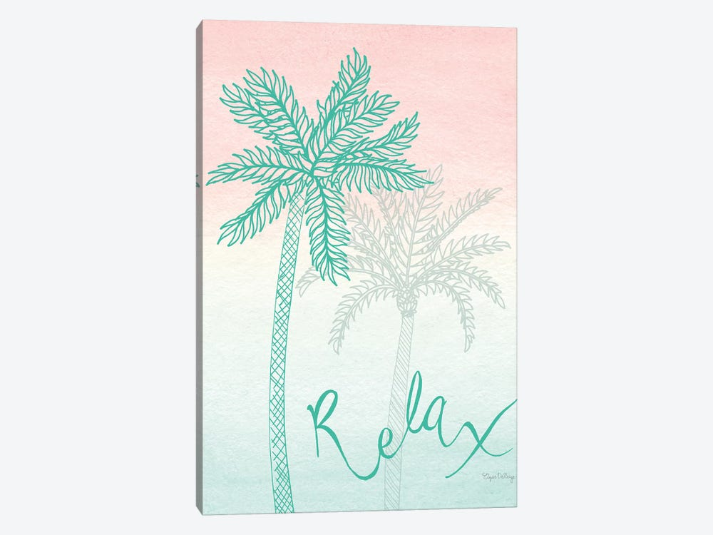 Sunset Palms I by Elyse DeNeige 1-piece Canvas Wall Art