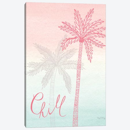 Sunset Palms II Canvas Print #WAC7678} by Elyse DeNeige Canvas Artwork