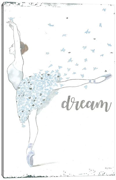 Dream Dancer II Canvas Art Print