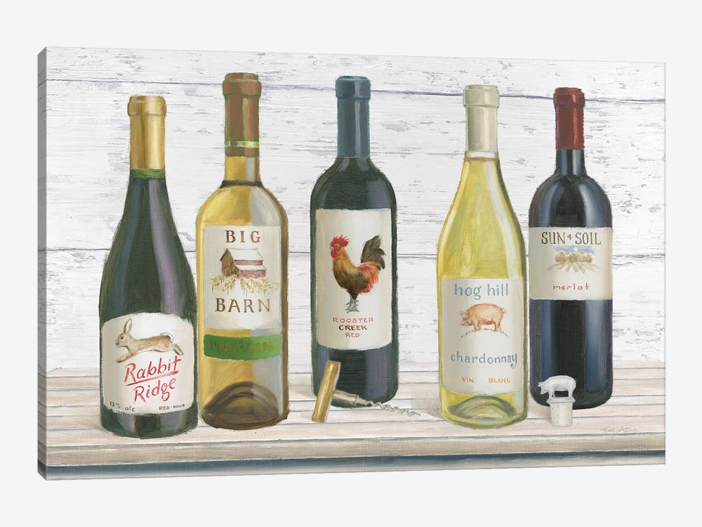 Vintner's Recess I by Emily Adams 1-piece Canvas Artwork