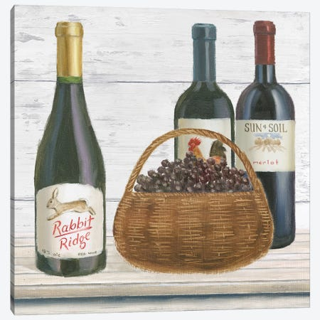 Vintner's Recess II Canvas Print #WAC7685} by Emily Adams Canvas Artwork