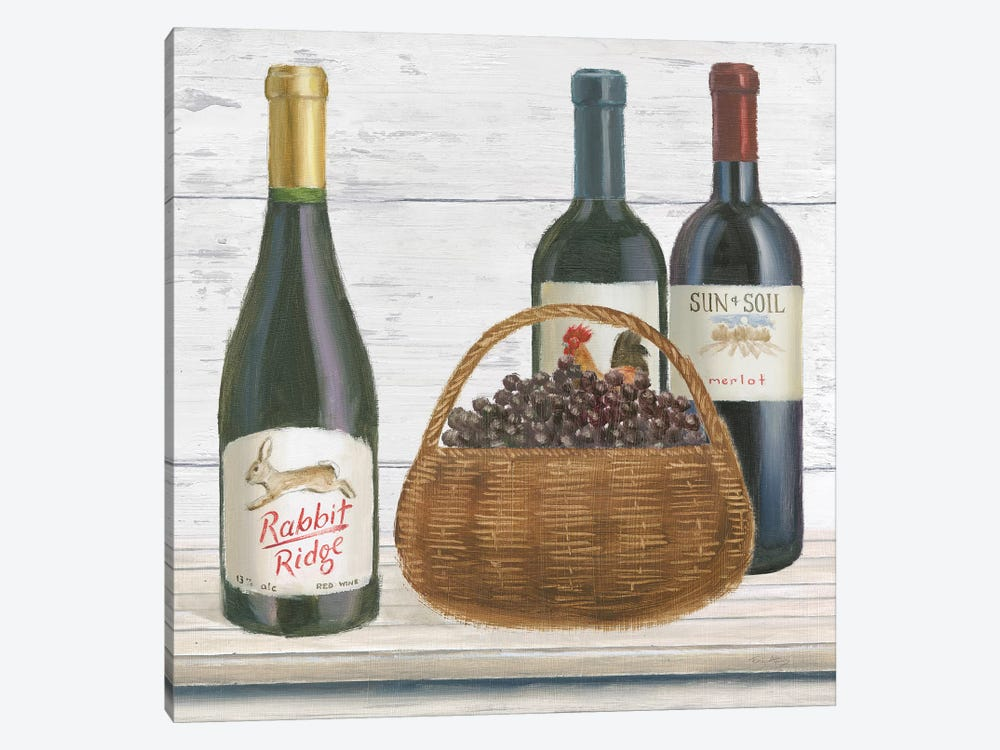 Vintner's Recess II by Emily Adams 1-piece Canvas Art Print