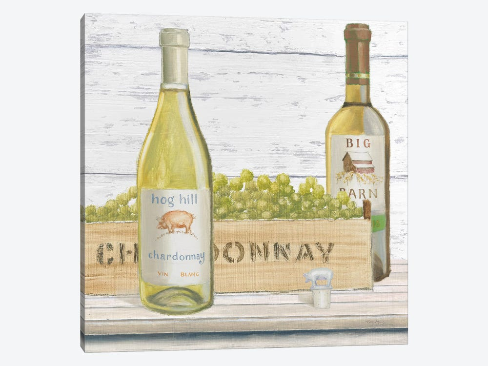 Vintner's Recess III by Emily Adams 1-piece Canvas Wall Art