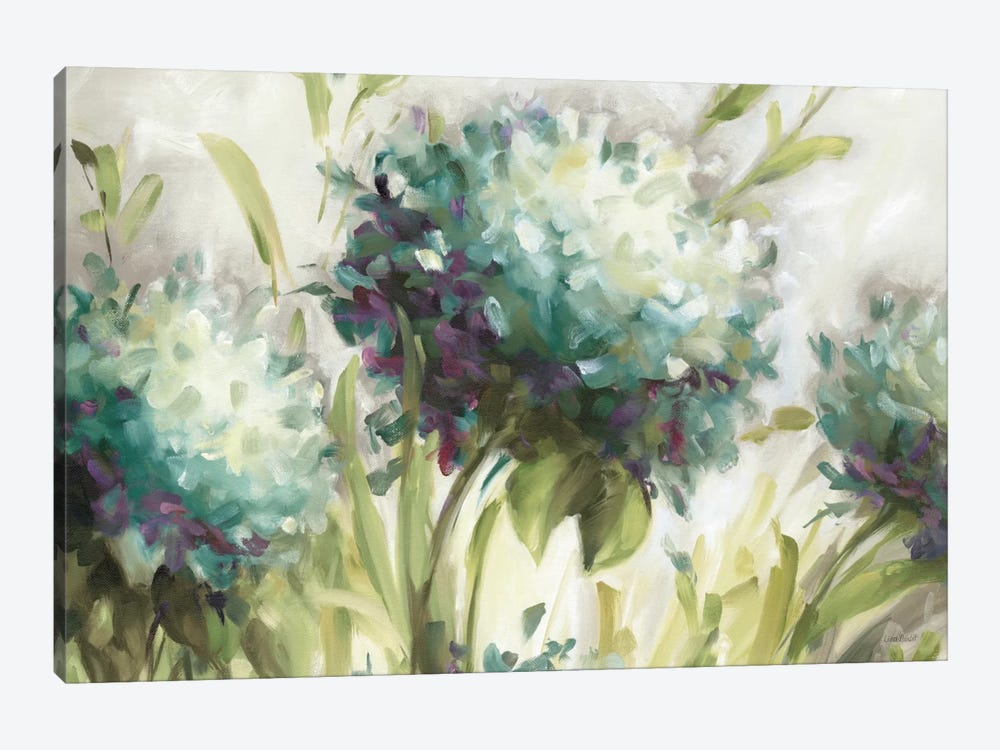 Hydrangea Field by Lisa Audit 1-piece Canvas Wall Art