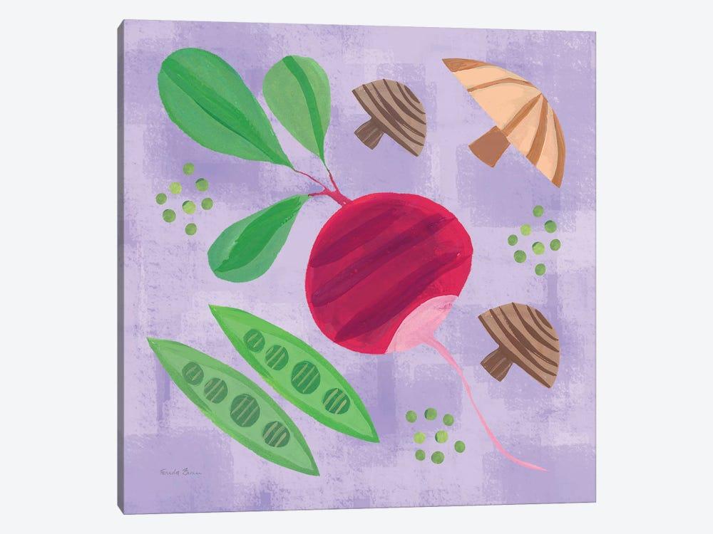 Veggie Time III by Farida Zaman 1-piece Canvas Art