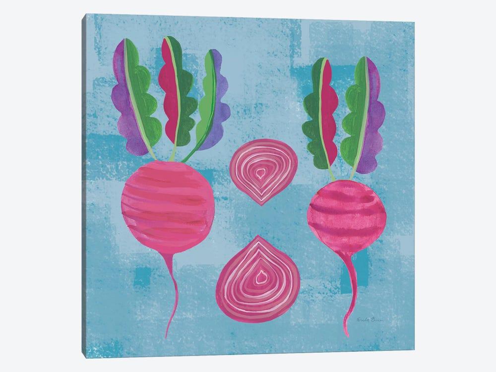 Veggie Time IV by Farida Zaman 1-piece Canvas Print