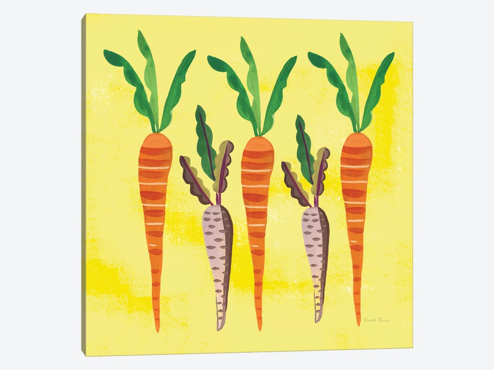 Veggie Time V 1-piece Canvas Wall Art
