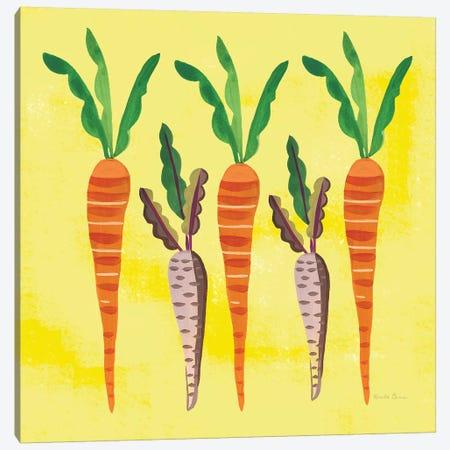 Veggie Time V Canvas Print #WAC7714} by Farida Zaman Canvas Artwork