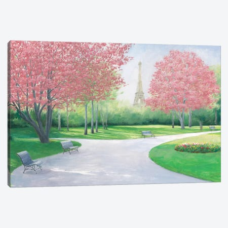 Parisian Spring Canvas Print #WAC7717} by James Wiens Canvas Art
