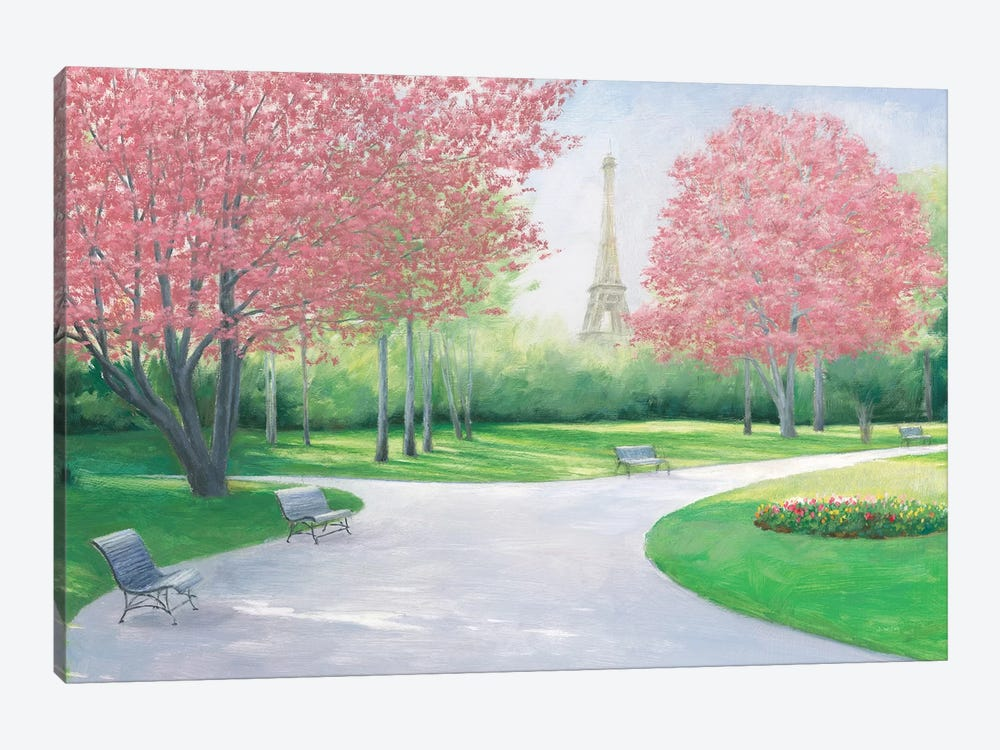 Parisian Spring by James Wiens 1-piece Art Print