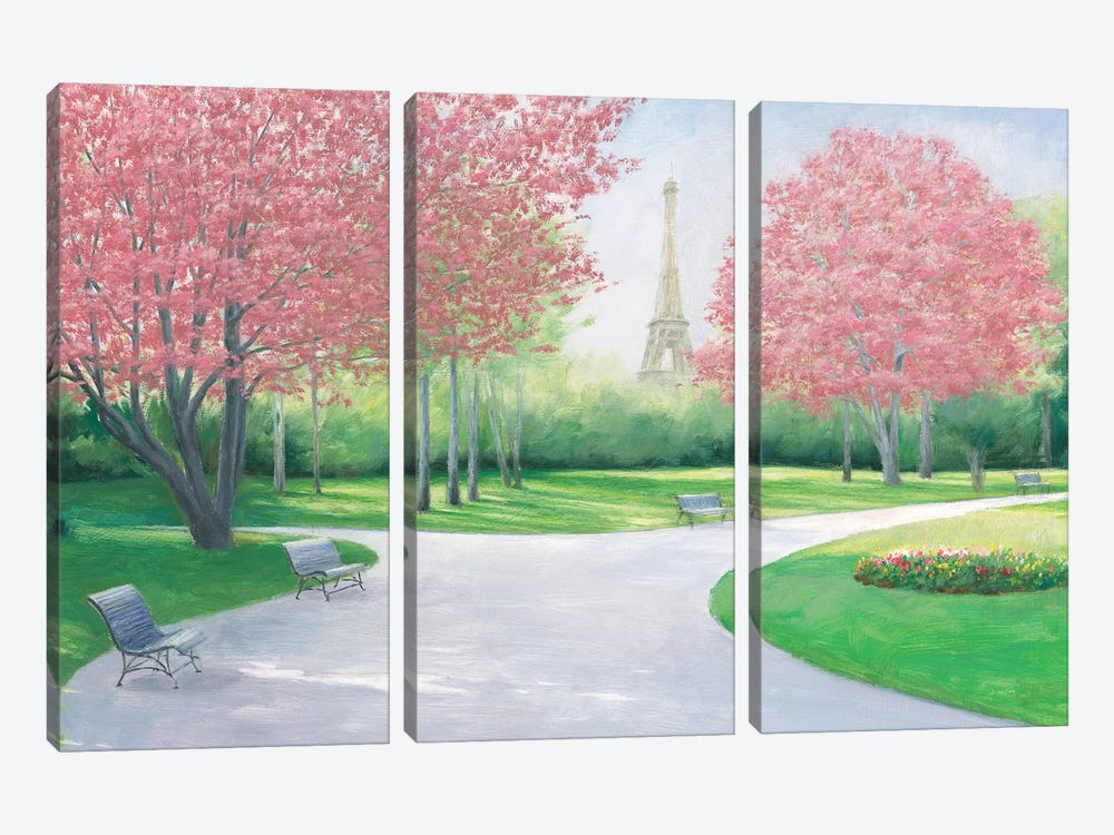 Parisian Spring by James Wiens 3-piece Art Print