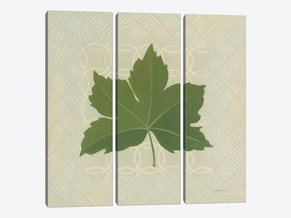 Forest Leaves I by Kathrine Lovell 3-piece Canvas Art