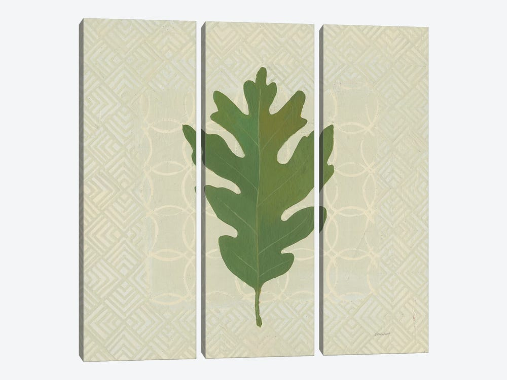 Forest Leaves II by Kathrine Lovell 3-piece Canvas Print