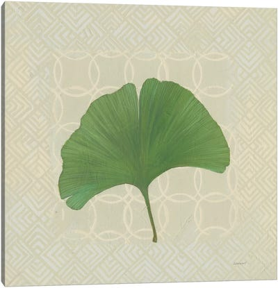 Forest Leaves IV Canvas Art Print