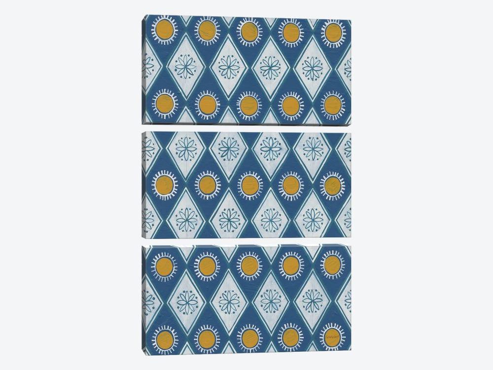 Sunny Designs I by Kathrine Lovell 3-piece Canvas Wall Art
