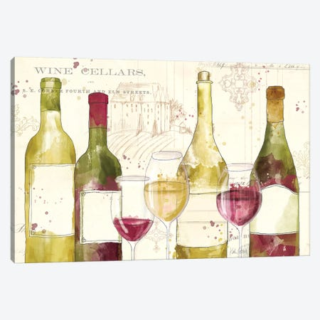 Chateau Winery I Canvas Print #WAC7744} by Katie Pertiet Canvas Print