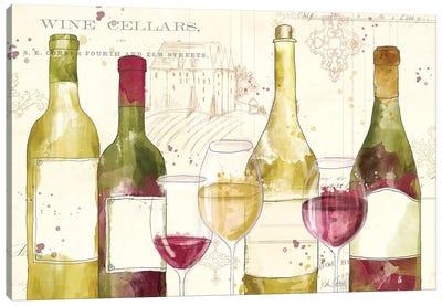 Chateau Winery I Canvas Art Print