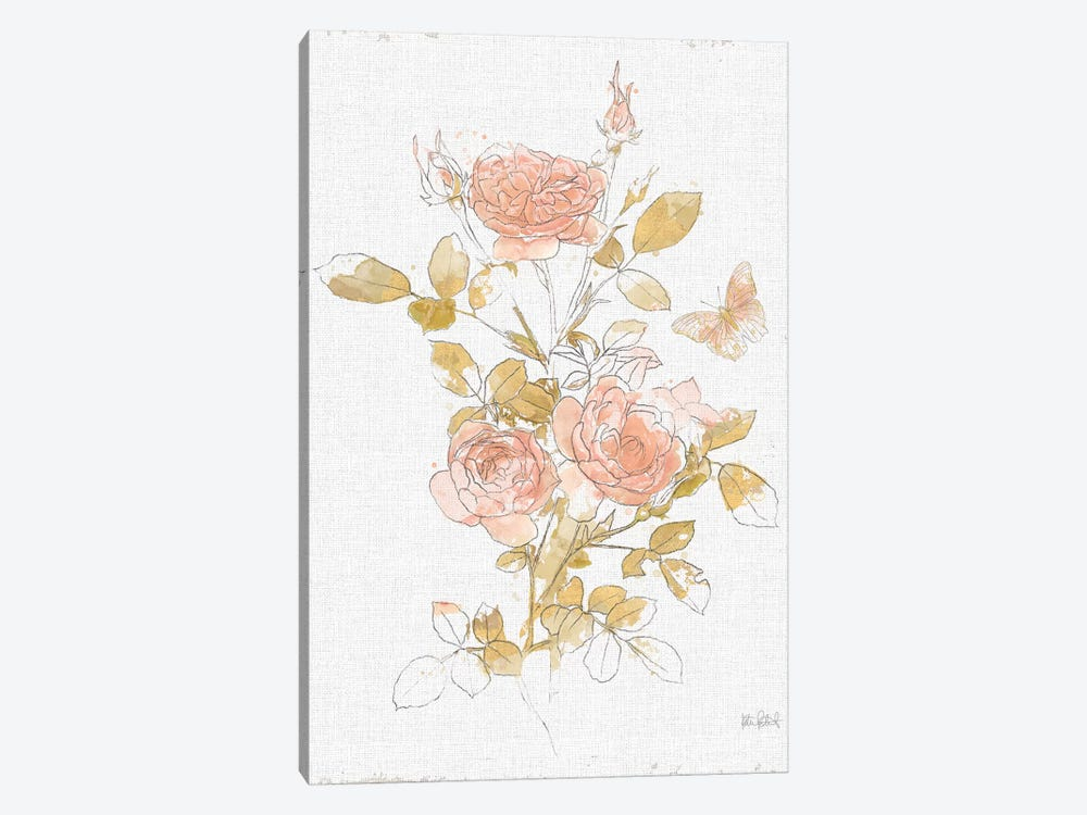 Watery Blooms II by Katie Pertiet 1-piece Art Print