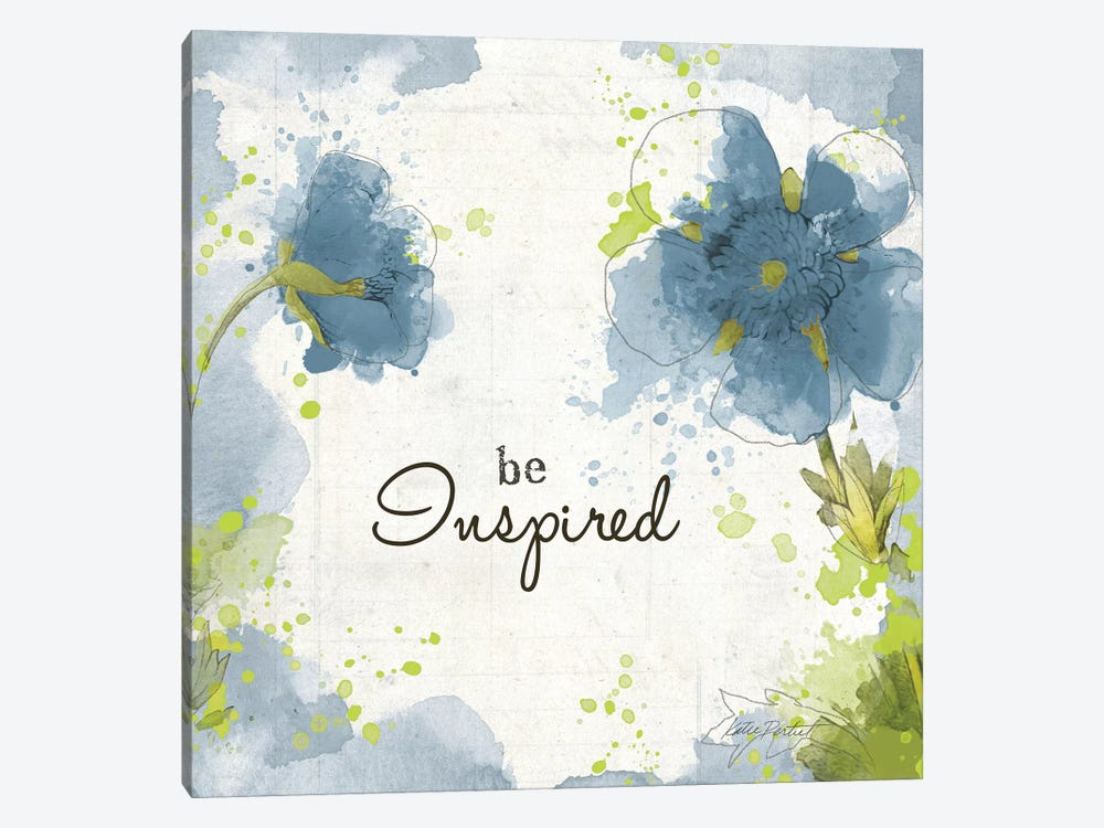 You Shine I: Blue Be Inspired by Katie Pertiet 1-piece Canvas Wall Art