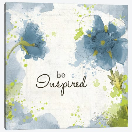 You Shine I: Blue Be Inspired 3-Piece Canvas #WAC7770} by Katie Pertiet Art Print