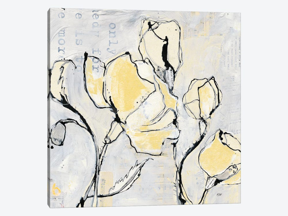 16 Again II: With Yellow by Kellie Day 1-piece Art Print