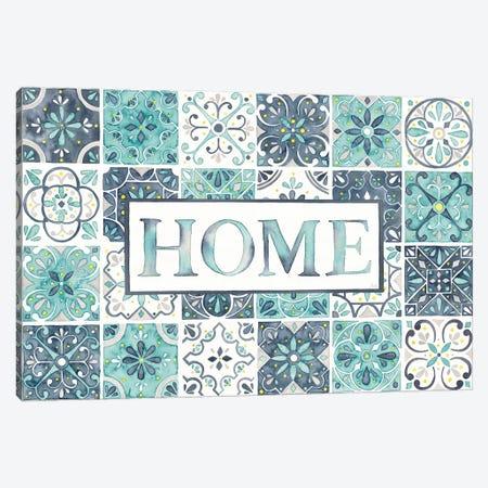 Garden Getaway: Home Canvas Print #WAC7779} by Laura Marshall Canvas Art Print