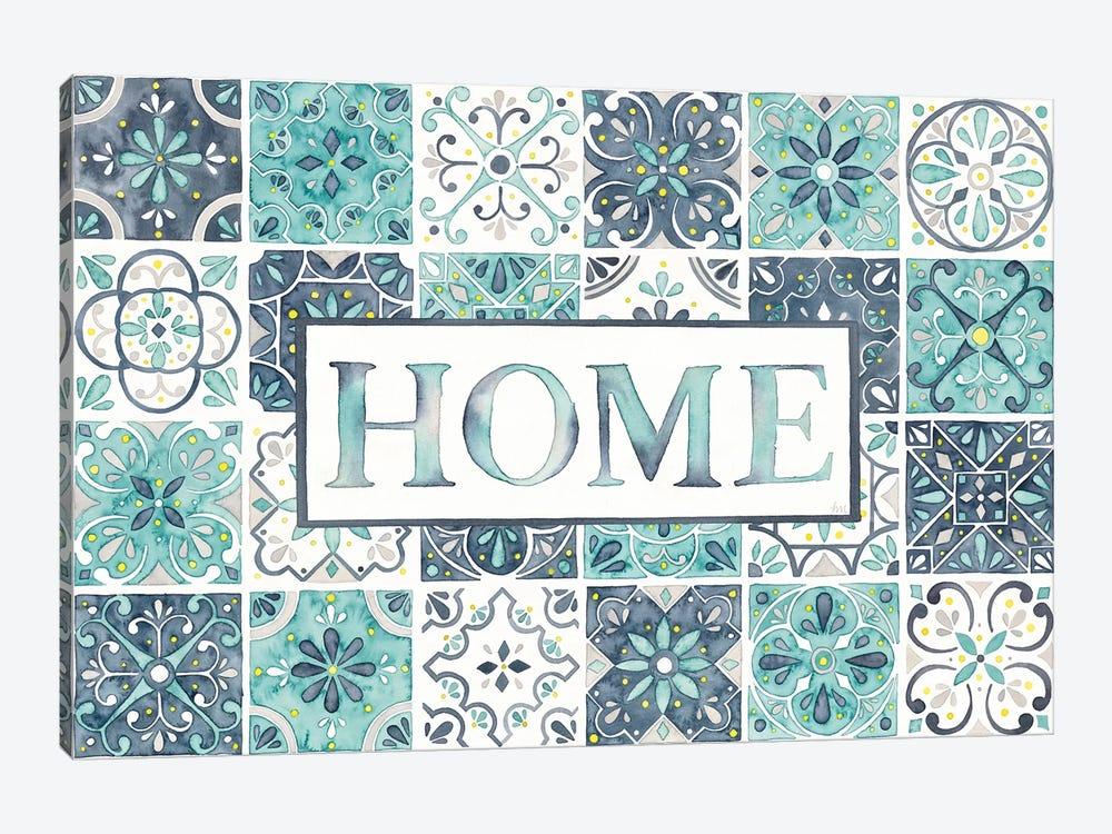 Garden Getaway: Home by Laura Marshall 1-piece Canvas Art Print