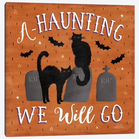 Haunted Halloween V Canvas Print #WAC7784} by Laura Marshall Canvas Print
