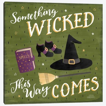 Haunted Halloween VI Canvas Print #WAC7785} by Laura Marshall Canvas Art Print